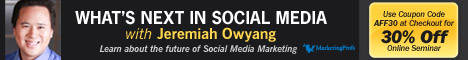 Social Media continues to redefine how companies do business. Jeremiah Owyang addresses at a high-level how companies should be looking at their current social media strategy and objectives, with an eye on the future.