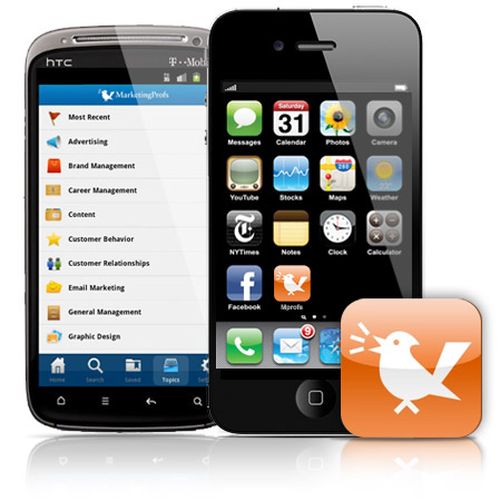 MarketingProfs Mobile Apps: Now available on iPhone and Android
