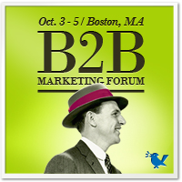 B2B Marketing Forum | October 3�5, 2012