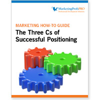 The Three Cs of Successful Positioning