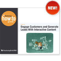 Engage Customers and Generate Leads With Interactive Content