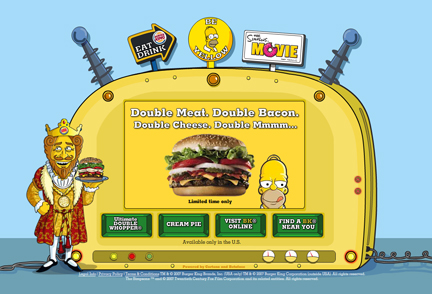 Are You Engaging Consumers With Your Message How A Fast Food Restaurant Extended Its Global Brand Reach Via An Interactive Website
