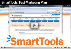 Watch the SmartTools: Fast Marketing Plan product tour video